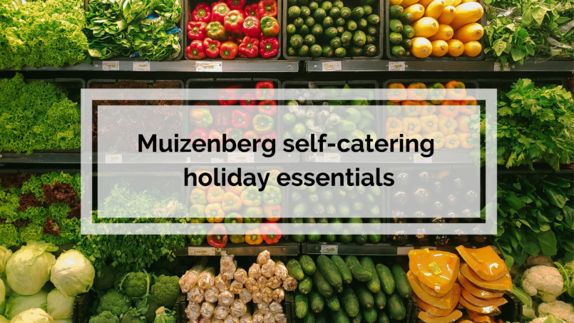Muizenberg Self-Catering Holiday Essentials