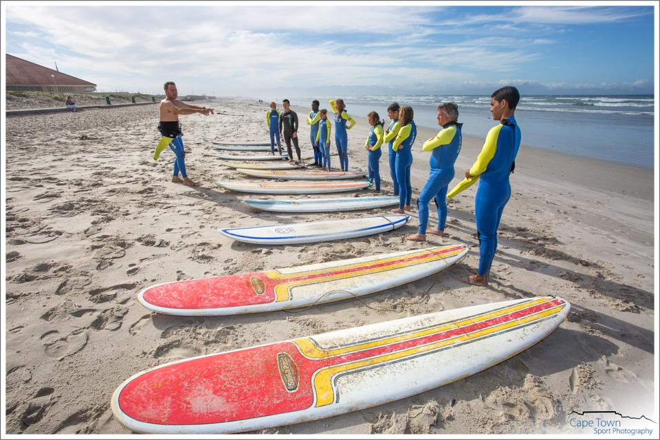 Activities to do with kids in Cape Town - Garys Surf School